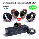 Het Slimme Horloge van Bluetooth met de Monitor van het Tarief van het Hart (K88H)