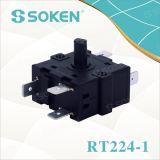 Nylondrehschalter mit 3 Positionen (RT224-1)