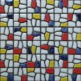 Mosaico 2017 da porcelana do arco-íris
