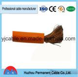 Cable de la soldadura del cable y cuerda aislados doble del cableado