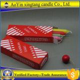 الصين [450غ] بيضاء مخدّد شمعة ممونات