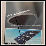 3mm les deux côtés gris lisse membrane de silicone pour plastificateur solaire