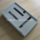 Placa de distribuição do gabinete da caixa do cerco do painel de distribuição do metal