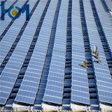 vidro solar desobstruído super do baixo ferro do uso do painel solar de 3.2mm
