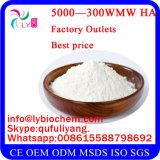 Pó do produto comestível e do ácido hialurónico da classe do cosmético, ácido hialurónico (HA)