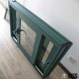Ventana de desplazamiento de aluminio termal cubierta polvo de Breaka del bloqueo de la maneta, ventana de aluminio, ventana de aluminio, ventana K01016