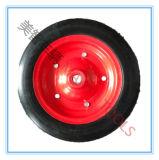 колесо тележки фуры покрышки длиннего эпицентра деятельности 14X3 твердое резиновый
