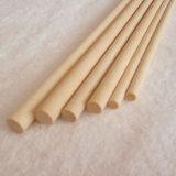 Espigas de palitos de brochetas de madera