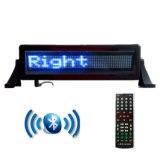 Segno della finestra di automobile del segno di rotolamento del messaggio del segno LED dell'automobile Bluetooth APP di controllo blu di P4.75-848 mini