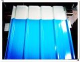 Galvanisiertes Zink beschichtete Dach-Blatt gebogenes farbiges gewölbtes Stahlblech