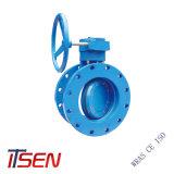 Doppelter Flansch-Enden-Drosselventil-Hersteller in China
