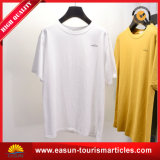 T-shirt extra-long de collier de double de mode de T-shirt