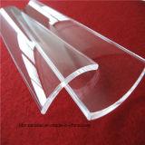 Arh personnalisé de haute qualité de la forme de la plaque de verre de silice