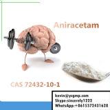 브라질 99.5% 순수성 Nootropic 분말 Aniracetam에 안전한 배