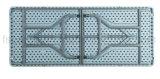 80 ''l par 36''w granit Table pliante rectangulaire en plastique (CG-FKC200)