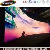 P3.91 HD는 주물 실내 임대료 발광 다이오드 표시 스크린을 정지한다