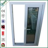 El plástico Triple-Pane ventana deslizante el apilamiento de las ventanas y puertas