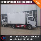 4*2 de Vrachtwagen van de Ijskast van het voedsel, de Bevroren Vrachtwagen van het Vervoer van het Vlees, Refrigerator Van Truck met Koude Zaal voor Verkoop