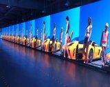 실내 발광 다이오드 표시 P3.91 P4.81 휴대용 위원회 임대 단계 LED 영상 벽