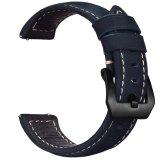 Riem van het Leer van de luxe de Echte voor Band van het Horloge van de Sport van het Toestel van Samsung de Slimme
