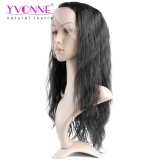 Yvonne-brasilianische menschliche Jungfrau-Haar-volle Spitze-Perücke-natürliche Welle