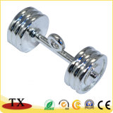 Fabricantes que vendem o anel chave do Barbell do metal do Dumbbell