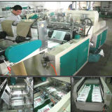 Plastikt-shirt herstellend, Beutel-Maschinen-Hersteller tragen
