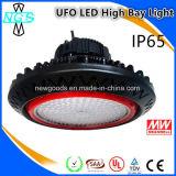 Im Freien Ckra populäres rundes hohes Bucht-Licht 200W des Entwurfs-LED