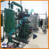 10 tonnes capacité quotidienne de raffinerie de pétrole du moteur du gaspillage de distillation pour la vente de plantes en Russie