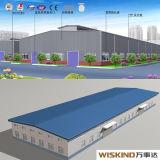 Acier de construction de l'entrepôt entrepôt préfabriqué