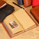 Livro quente do registro do livro de Trave do caderno da venda