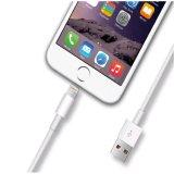 Carregador rápido personalizado do telefone móvel do cabo do USB do curso para o iPhone
