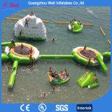 고품질 아이와 성인 팽창식 뜨 물 공원 팽창식 물 운동장 게임