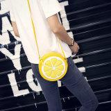 夏の新しい女性「s袋の韓国のオレンジ小さい円形の潮袋の女性の肩のメッセンジャー袋