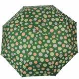 Padrão de pontos bonita forma de chuvas ensolarado Dobra Criativa Marca Automática Completa Umbrella Homens Mulheres Business Paragus dom de qualidade