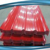 A folha de aço galvanizada Prepainted da bobina/telhado/corrugou a folha da telhadura do metal