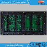 Tablilla de anuncios impermeable al aire libre a todo color de LED de P6.67 SMD Module