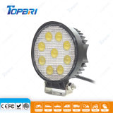 Contabilità elettromagnetica rotonda 27W Epistar LED che corre l'indicatore luminoso del lavoro per ATV