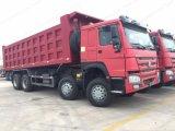 Sinotruk HOWO 8X4 12 바퀴 팁 주는 사람 트럭 또는 화물 자동차 및 대형 트럭