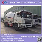 10000liters aan de Vrachtwagen van de 14000liters8X4 Shancman Concrete Mixer