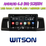 "Witson 9"" на большой экран Android 6.0 DVD для Toyota Corolla 2000-2006"