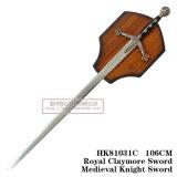 Espadas européias das espadas medievais reais das espadas de Crimeia 106cm HK81031c