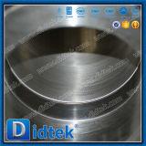Vávula de bola criogénica del muñón del lacre suave del acero inoxidable de Didtek