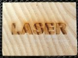 30With50With80With100W machine d'inscription de laser du CO2 rf pour le bois de papier de PVC