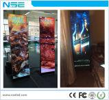 Tissu d'intérieur DEL de Teindre-Sublimation de stand d'étage annonçant l'étalage