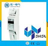 Метр электричества рельса одиночной фазы двухпроводной RS485 Modbus RTU DIN