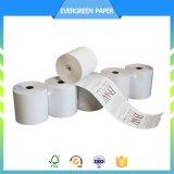 papel Rolls de impresora térmica del papel de caja registradora de 57m m 80m m