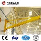 La norma ISO/FEM 0.25-16t montado en el pilar de la rotación de la grúa pluma con CE/certificado SGS