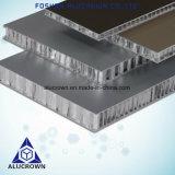Rouleau de PE/PVDF Panneau alvéolaire en aluminium à revêtement pour murs extérieurs et intérieurs