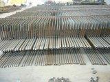 Escalera de acero/plataforma/pasamanos/Escaleras para edificios con estructura de acero